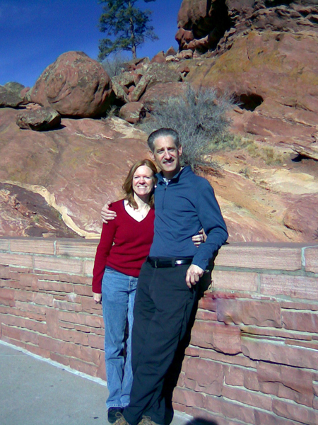 It has been a healthy year for us. We both got into cycling again did many 27 mile workouts to Cherry Creek State Park.