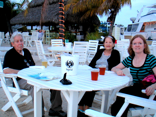 A few nights in Key Largo - perfect weather, our feet in the sand, watching the sunset. A night that dreams are made of!