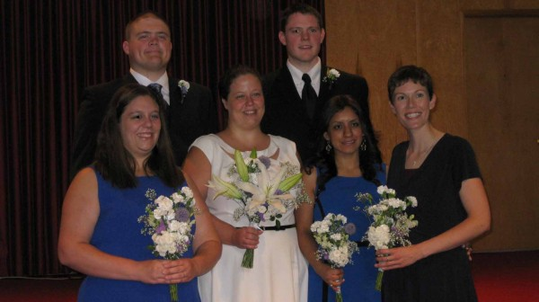 2013-07-27 Geoff and Anna's Wedding (20) the Bridal party
