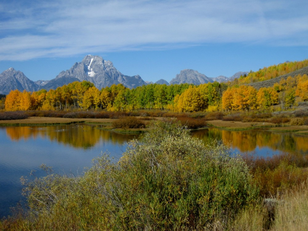 15-09 Grand Teton NP -089 - Oxbow Bend Snake River