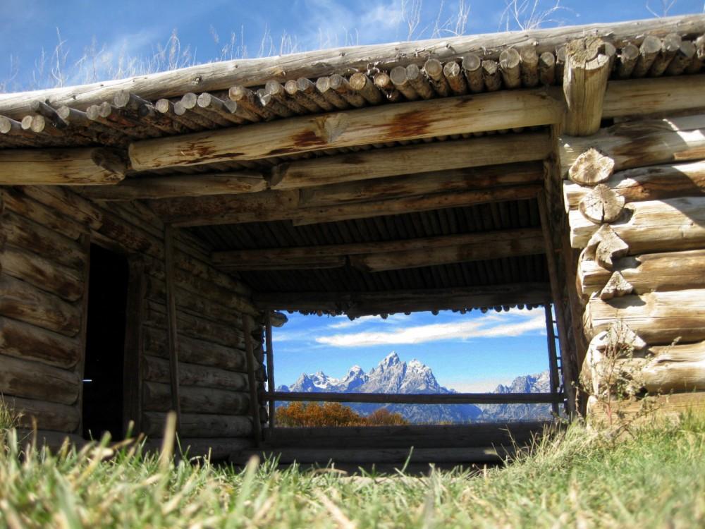 15-09 Grand Teton NP -095 - Cunnighan Cabin