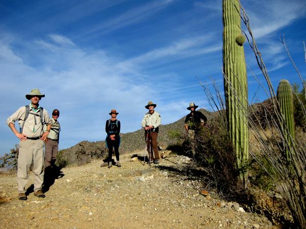 15-12-21 Saguaro NP (West) Wasson Peak Ranger Led Moonlight Hike -010 Henry