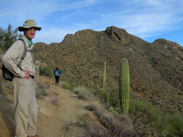 15-12-21 Saguaro NP (West) Wasson Peak Ranger Led Moonlight Hike -012 Henry
