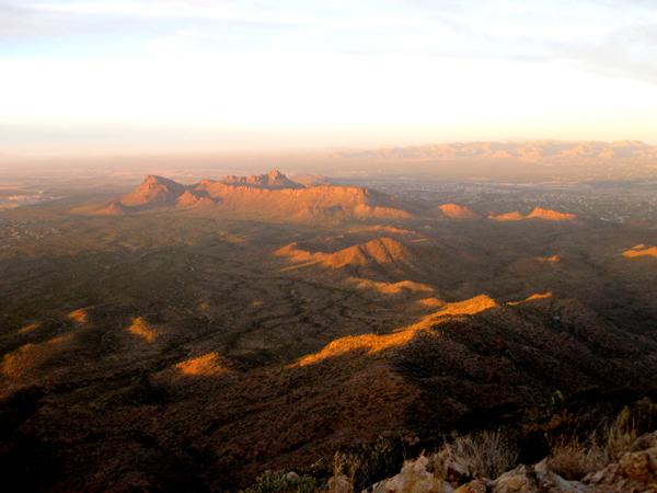 15-12-21 Saguaro NP (West) Wasson Peak Ranger Led Moonlight Hike -013
