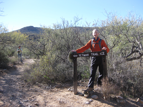 15-12-30 Tucson Mtn Park - Jetman-Bowen-Lee Hidden Canyon -002 Henry